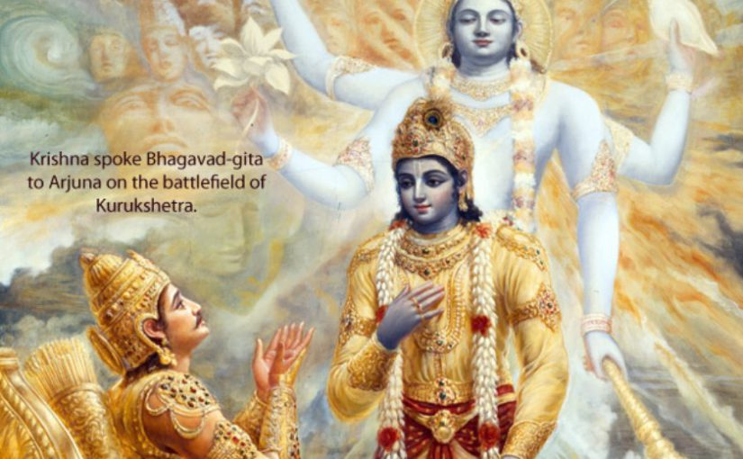 Service In The Spirit of Bhagavad Gita by Bhagavan Sri Krishna, Spiritual Master or Guru of Arjuna