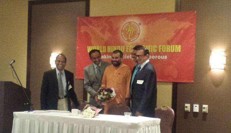Guru Swami Vigyananand Talk & Meet in WHEF Event